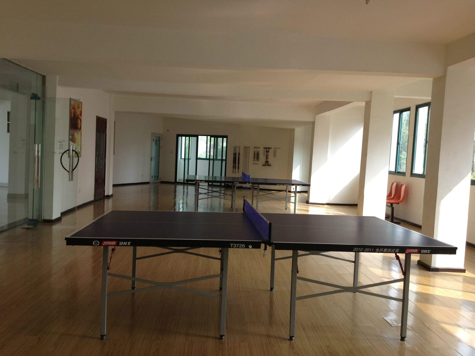 职工乒乓球室